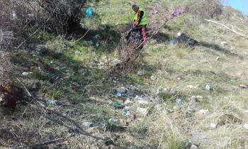 Τον «Προφήτη Ηλία» καθάρισαν οι Εθελοντές για την καθαριότητα