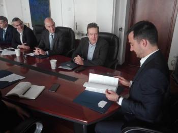 Συνάντηση της ΕΣΕΕ με τον Υπουργό Εσωτερικών Αλέξη Χαρίτση