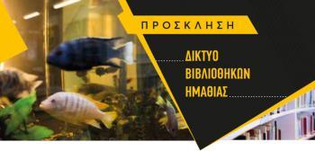 Δημιουργία Δικτύου Βιβλιοθηκών Ημαθίας, με πρωτοβουλία της Δ/νσης Α/θμιας Εκπ/σης και της Δημόσιας Βιβλιοθήκης