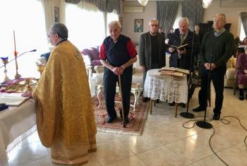 Τελέσθηκε το Σάββατο 6 Απριλίου, Θεία λειτουργία στο Γηροκομείο Βέροιας