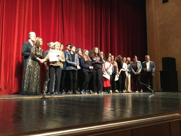 Τελετή βραβεύσεων 7ης Θεατρικής Άνοιξης Εφήβων Γυμνασίων & Λυκείων Ημαθίας, Πιερίας και Πέλλας