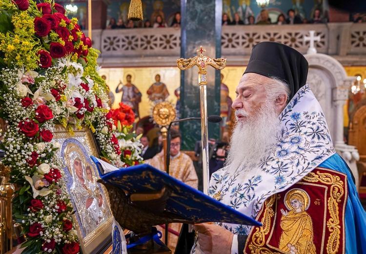 Δ' Στάση των Χαιρετισμών της Υπεραγίας Θεοτόκου στον Πολιούχο της Βεροίας, Όσιο Αντώνιο