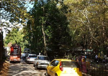 Πυρκαγιά τα ξημερώματα σε κουζίνα εξοχικού κέντρου στο άλσος Αγίου Νικολάου Νάουσας
