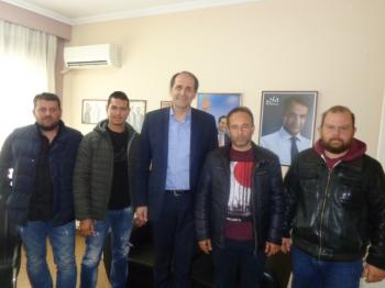 Συνάντηση Αγροτικού Συλλόγου Ημαθίας με το βουλευτή κ. Απόστολο Βεσυρόπουλο για φλέγοντα αγροτικά ζητήματα
