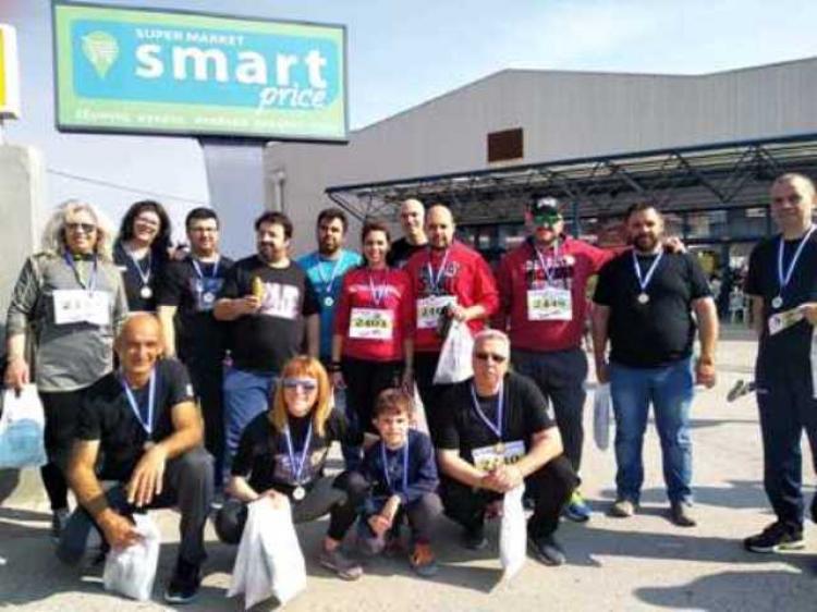 Συμμετοχή του ΣΔΕ ΝΑΟΥΣΑΣ στον αγώνα δρόμου του Μακροχωρίου
