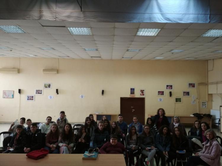 Δράση της Πολιτιστικής Ομάδας «Παραμυθάδες εν δράσει» του Γυμνασίου Μακροχωρίου
