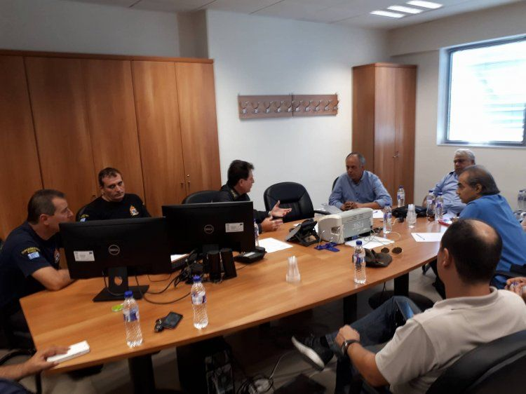 Επίσκεψη κλιμακίου της Ν.Ε. ΣΥΡΙΖΑ Ημαθίας στην Πυροσβεστική