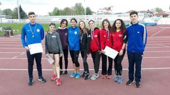 Δεκαέξι μετάλλια οι βεροιώτες αθλητές και πολλά ρεκόρ στο διασ/κό πρωτάθλημα στίβου παίδων κορασίδων