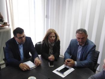 Επίσκεψη του Κώστα Ναλμπάντη, υποψήφιος δήμαρχος Αλεξάνδρειας, στην ΑΝ.ΗΜΑ.