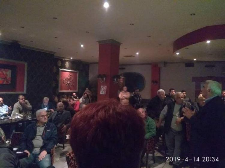 Εντυπωσιακή συμμετοχή των πολιτών στις συναντήσεις ανταλλαγής απόψεων με τον υποψήφιο Δήμαρχο Αλεξάνδρειας Μιχάλη Χαλκίδη
