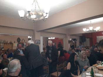 Συνεχίζονται οι συναντήσεις του Μιχάλη Χαλκίδη. Παρουσίασε και νέους υποψήφιους συμβούλους