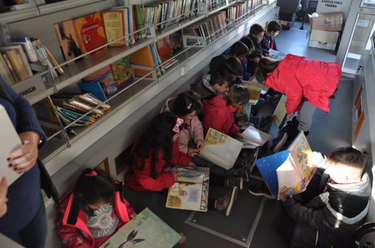 Πρόγραμμα κίνησης κινητής βιβλιοθήκης δημόσιας βιβλιοθήκης Βέροιας Απριλίου 2019