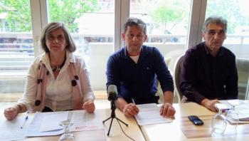 Υποψήφιους περιφερειακούς και δημοτικούς συμβούλους παρουσίασε η «Λαϊκή Συσπείρωση»