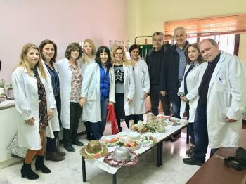 Το πασχαλινό bazaar του Κέντρου Υγείας Βέροιας