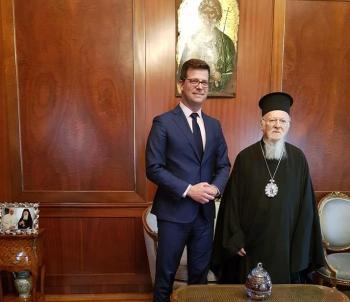Επίσημη επίσκεψη του Υφυπουργού Μεταναστευτικής Πολιτικής Άγγελου Τόλκα στην Κωνσταντινούπολη