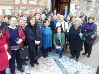 Επίσκεψη του ΚΑΠΗ Βέροιας στο Αρχαιολογικό Μουσείο Θεσσαλονίκης και τον Ιερό Ναό Αγίου Δημητρίου