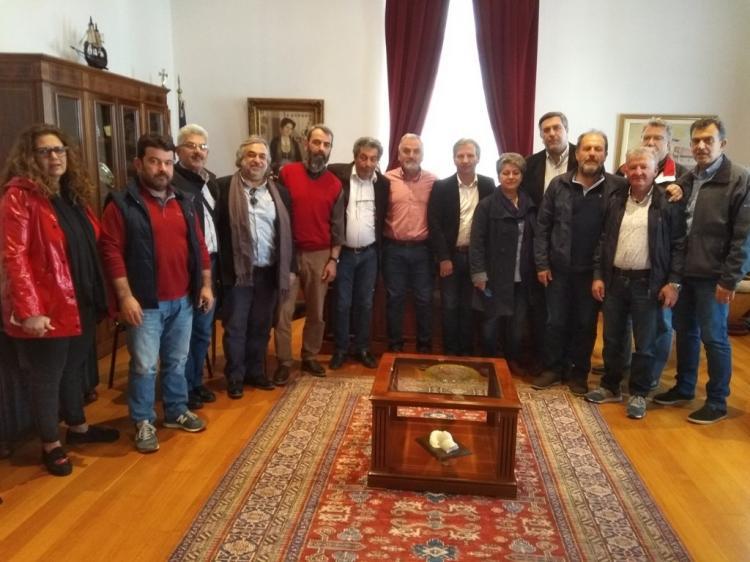 Συνάντηση ΠΟΕ-ΔΕΥΑ με αντιδήμαρχο Βέροιας και πρόεδρο ΔΕΥΑΒ