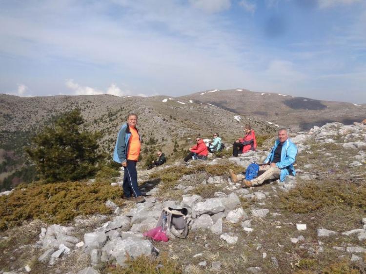 ΒΕΡΜΙΟ, ΚΟΥΜΑΡΙΑ – 5 ΠΥΡΓΟΙ  1750 μ., Κυριακή 21 Απριλίου 2019, με τους Ορειβάτες  Βέροιας