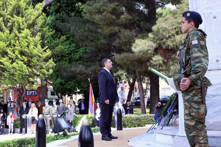 Α. Τζιτζικώστας για την Ημέρα Μνήμης της Γενοκτονίας των Αρμενίων : «Η σιωπή είναι συνενοχή και συνέργεια απέναντι σε κάθε έγκλημα»