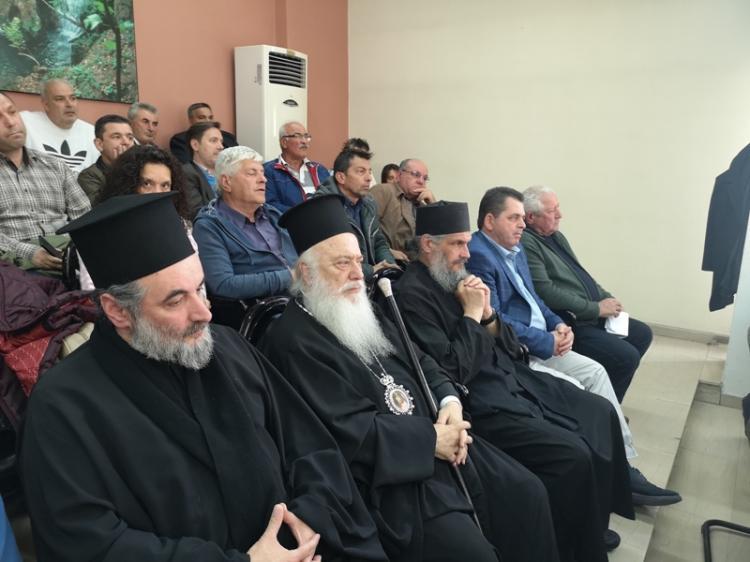 Η παραχώρηση δημ. οικοπέδου για την ανέγερση Ναού του Πολιούχου της Νάουσας, Οσίου Θεοφάνους, μονοπώλησε τη χθεσινή συνεδρίαση του ΔΣ