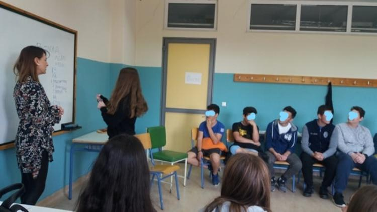 Βιωματικά εργαστήρια από την Κοινωνική Υπηρεσία του Δήμου Βέροιας με τους μαθητές του 6ου γυμνάσιου