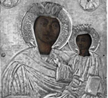 Την Ιερά Εικόνα της Παναγίας από την Ι.Μ. Πέτρας Ολύμπου υποδέχεται ο Ι.Ν. Αγίου Γεωργίου Νάουσας