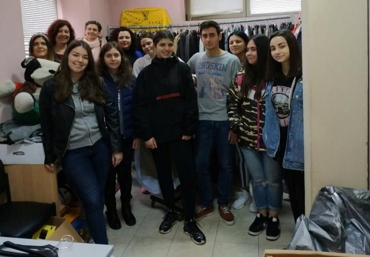 Ευχαριστήριο για τη δράση των μαθητών του 1ου ΕΠΑΛ Βέροιας και την συνεργασία τους με τις Δομές Παροχής Βασικών Αγαθών