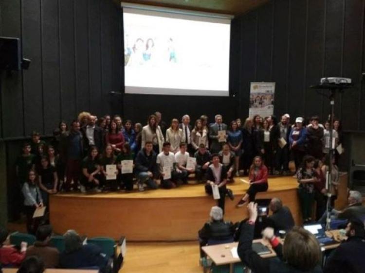 Το 1o βραβείο Ecomobility – Freemobility 2019 στην ομάδα του Σ.Δ.Ε. Νάουσας