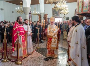 Πανηγύρισε ο Ιερός Ναός του Αγίου Γεωργίου Βεροίας