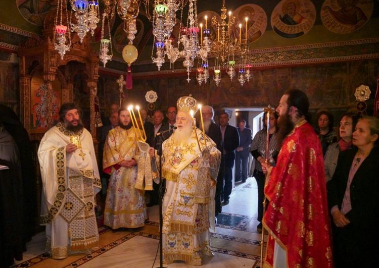 Εορτάστηκε η μνήμη της Οσίας Ματρώνας εκ Ρωσίας στην Ιερά Μονή Αγίων Πάντων Βεργίνας
