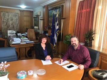 Φρόσω Καρασαρλίδου : De minimis για την ποικιλία αχλαδιών κρυστάλλια στην Ημαθία
