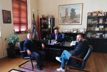 Σύμβαση για το έργο αγροτικής οδοποιίας Αγ. Γεωργίου υπέγραψε ο Δήμαρχος Βέροιας