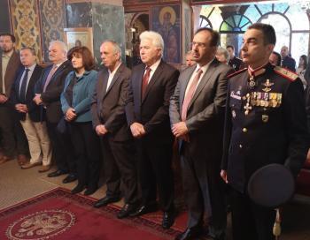 Η 1η Μεραρχία Πεζικού τίμησε τη μνήμη του Προστάτη του Στρατού, Αγίου Μεγαλομάρτυρος Γεωργίου