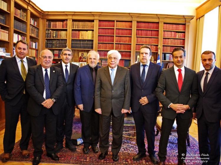 Συνάντηση της ΕΣΕΕ με τον Πρόεδρο της Δημοκρατίας κ. Προκόπη Παυλόπουλο