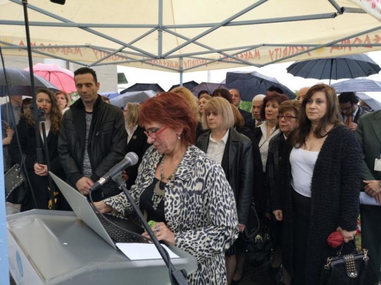Υπό βροχή η Νάουσα τίμησε την 197η επέτειο του Ολοκαυτώματος της. Ματαιώθηκε η παρέλαση