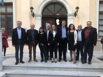 Τους υποψήφιους περιφερειακούς συμβούλους Ημαθίας με το συνδυασμό «Κοιτάμε Μπροστά» παρουσίασε ο Χρήστος Γιαννούλης