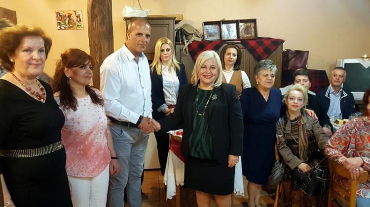 Γεωργία Μπατσαρά : Από τους κορυφαίους ο Σύλλογος Βλάχων Βέροιας