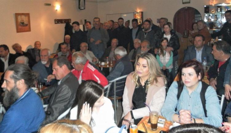 «Πράσινο φως» από την Πρασινάδα στην εκκίνηση της προεκλογικής περιοδείας ο Κώστας Ναλμπάντης