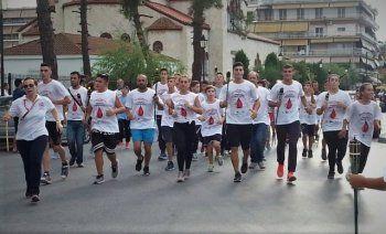 Με επιτυχία πραγματοποιήθηκε η εκδήλωση  του Δήμου Αλεξάνδρειας για την υποδοχή της «Φλόγας της Αγάπης»