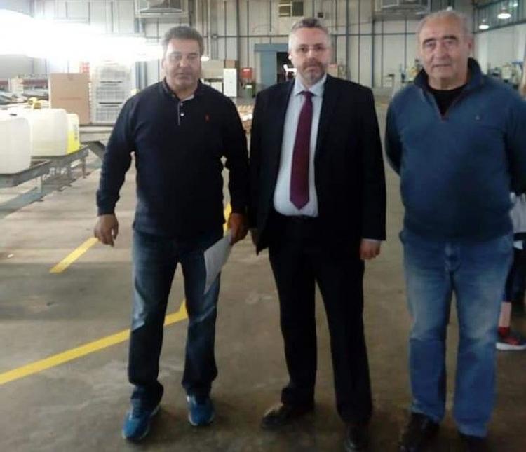 Επίσκεψη Γιάννη Παπαγιάννη στον αγροτικό συνεταιρισμό «Νέος Αλιάκμων»