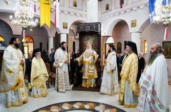 Αρχιερατική Θεία Λειτουργία και μνημόσυνο της Ευξείνου Λέσχης Ναούσης για τη Γενοκτονία των Ποντίων