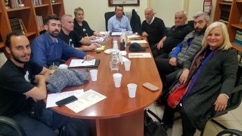 Με τη διοίκηση της Ευξείνου Λέσχης Βέροιας συναντήθηκε η Γεωργία Μπατσαρά