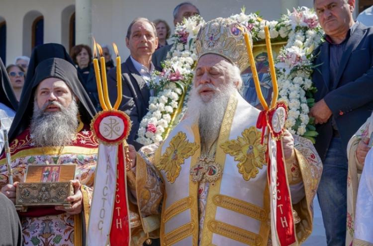 Πανηγύρισε ο υπό ανέγερση I. Ναός των Αγίων Κυρίλλου και Μεθοδίου Αλεξανδρείας