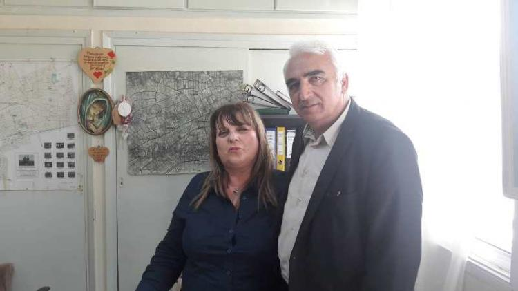 Επισκέψεις του Μ. Χαλκίδη σε Πυροσβεστική Υπηρεσία , Πολεοδομία και Αστυνομικό Τμήμα Αλεξάνδρειας