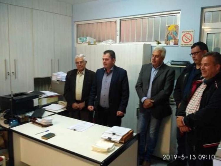 Κ. Καλαϊτζίδης από τη Νάουσα : «Άριστη συνεργασία με τους ΤΟΕΒ της Ημαθίας»