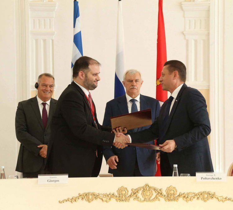 Συνεργασία του Δήμου Νάουσας με το Δήμο Αγίας Πετρούπολης Ρωσίας