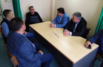 Συνάντηση Κ. Ναλμπάντη – Σ. Τσιάπλα σε θετικό κλίμα στο Κέντρο Υγείας Αλεξάνδρειας