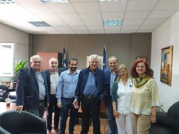 Επίσκεψη υποψηφίων περιφερειακών συμβούλων του συνδυασμού «Κοιτάμε Μπροστά» στο Νοσοκομείο Βέροιας