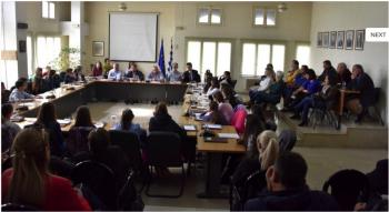 Με πολύ μεγάλη επιτυχία η πρώτη συνεδρίαση του Δημοτικού Συμβουλίου Παίδων Νάουσας