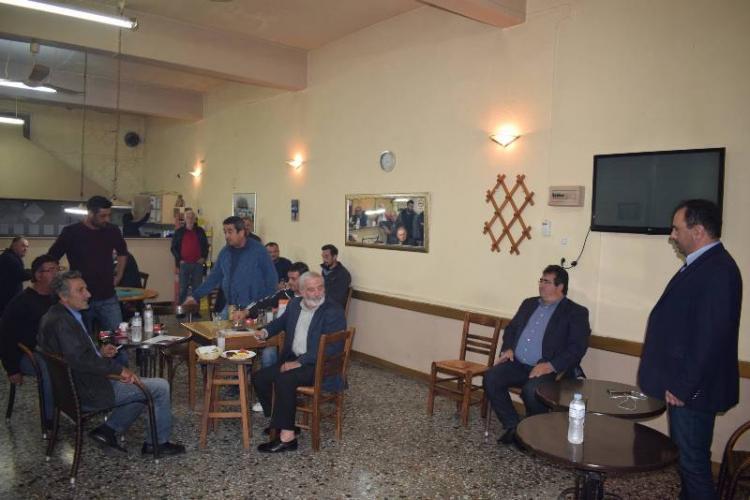 Δημόσιο Διάλογο με κατοίκους της Συκιάς και των Παλατιτσίων πραγματοποίησε ο Κ. Βοργιαζίδης